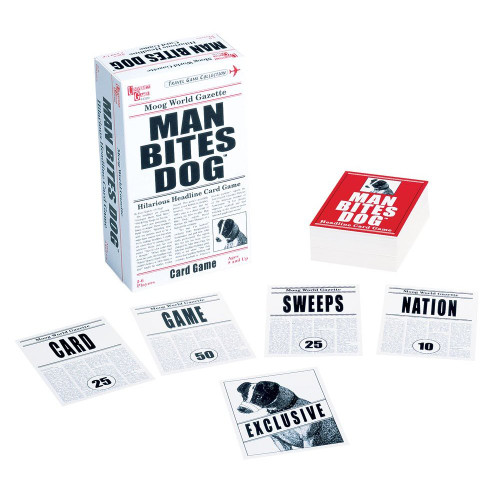 Man Bites Dog - Card Game by University Games