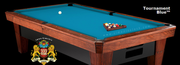 Simonis 860HR Billiard Cloth, 10 foot cut with bed and rails