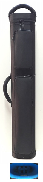 JB Dynamite Rugged 4x8 black with blue interior, 2 oversize pockets, top handle