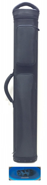 JB Dynamite Rugged 3x6 black with blue interior, 2 oversize pockets, top handle