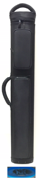 JB Dynamite Rugged 3x4 / 2x5 all black with blue interior, 2 oversize pockets, top handle