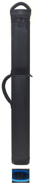 JB Dynamite Rugged 2x3 all black with blue interior, 2 oversize pockets, top handle