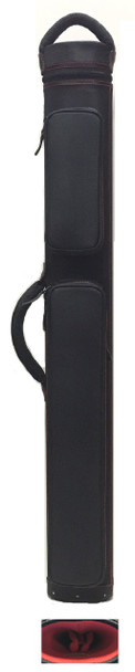 JB Dynamite Rugged 2x3 black with red stitching, red interior, 2 oversize pockets, top handle