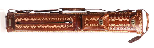 Instroke Saddle 2x4 D01 Brown Hand Painted