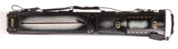 Instroke Saddle 3x5 D03 Black Air Brushed