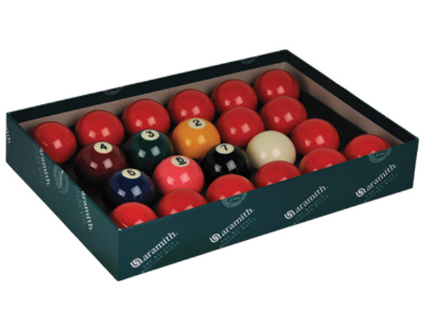 """Aramith Premier 2 1/8"""" Snooker Set With Numbers"""