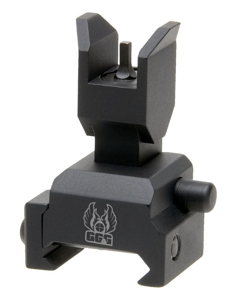 GG&G Spring Actuated Flip Up Front Sight For Tactical Forearms GGG-1393 813157002311 AR-15 Rifle