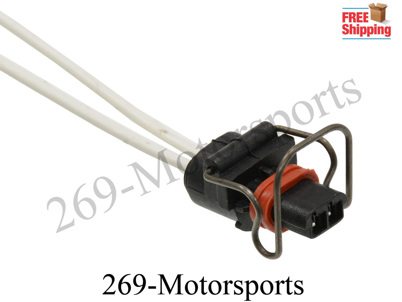 Motorcraft Wiring Connectors Pigtails Block And Schematic Diagrams Napa 7 Way Trailer Plug Diagram 2 Wire Injector Connector Ipr Valve Pigtail For 6 0 3 Ford Rh 269motorsports Com Delphi
