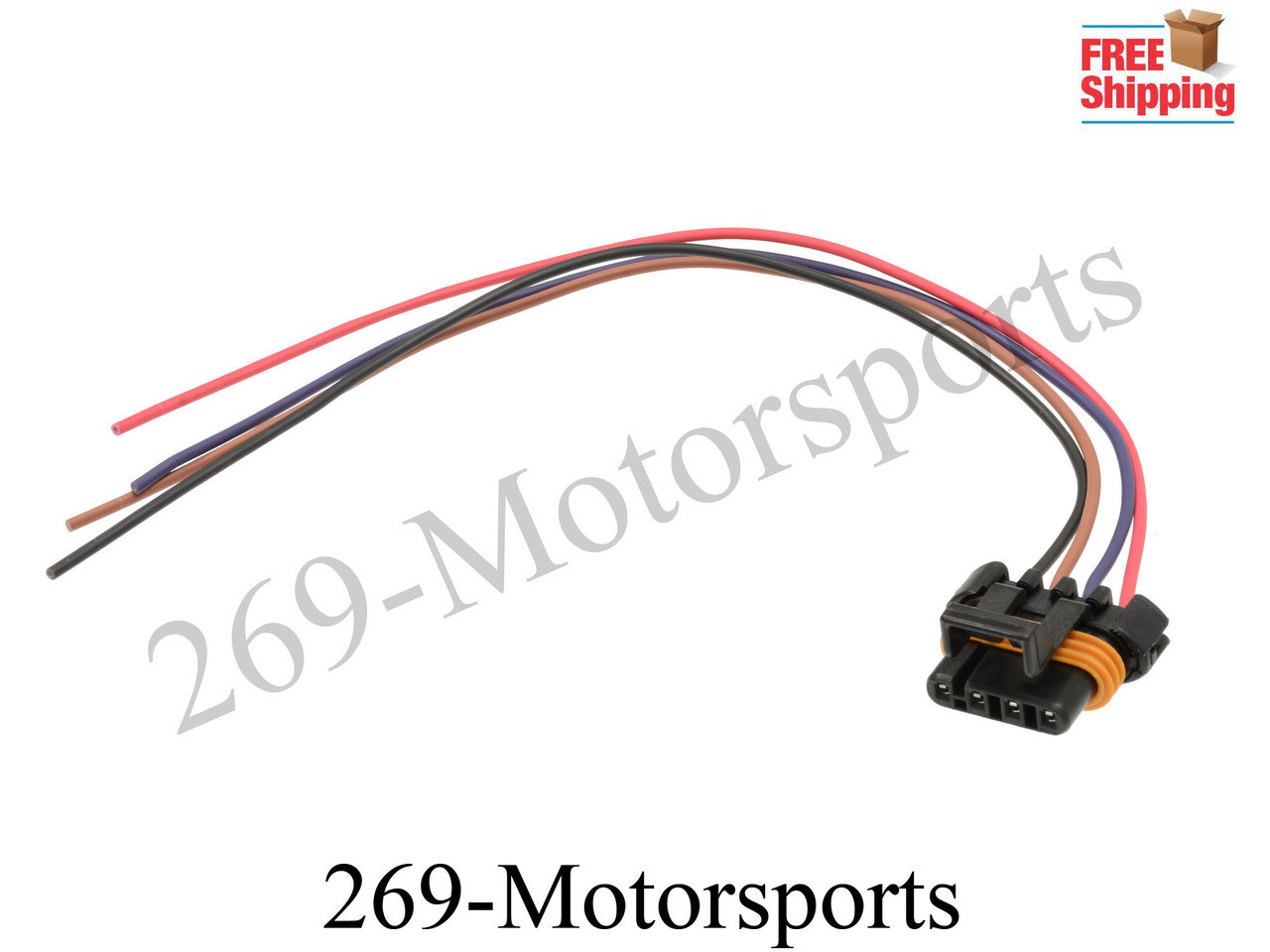 o2 oxygen sensor wiring harness connector pigtail for gm