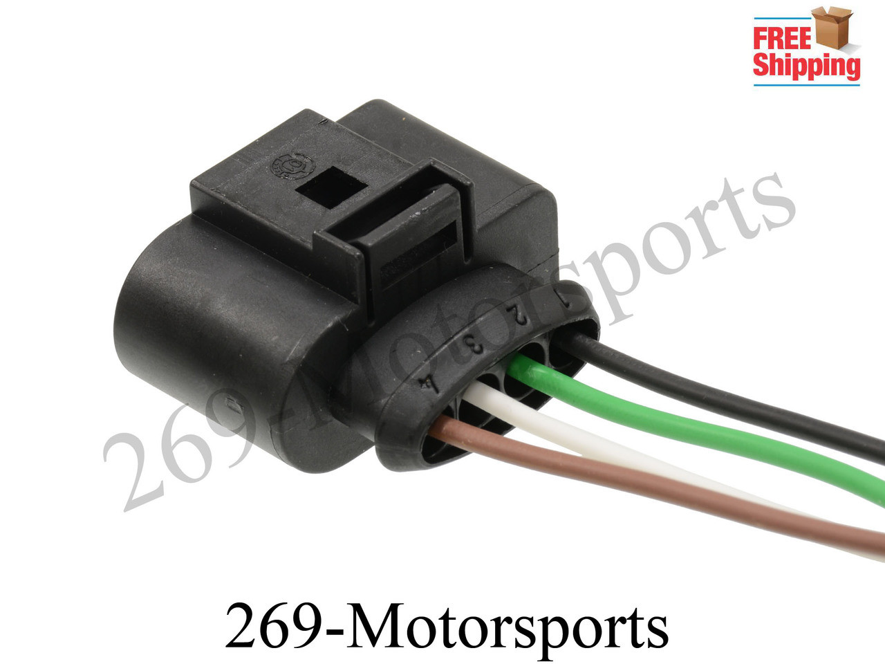 Ignition Coil Wiring Harness Repair Kit : Ignition coil connector repair kit harness wiring fits