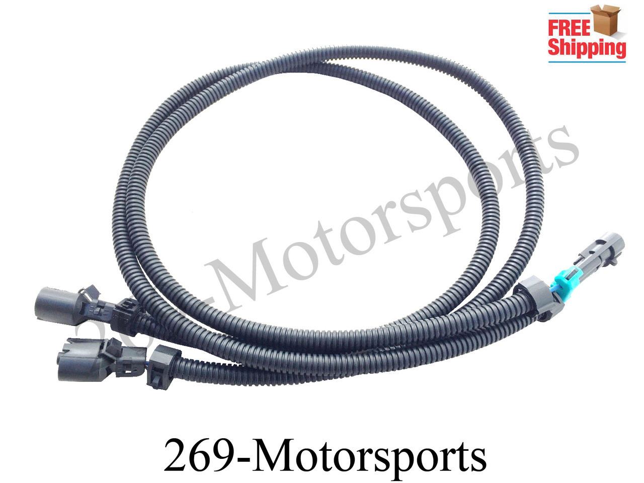 knock sensor extension wiring harness for ls1 ls6 to ls2 rh 269motorsports com Engine Wiring Harness PSI Wiring Harness
