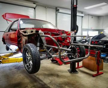79 04 Mustang Universal Tubular Front End