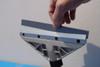 """Telescoping Handle & Big 8"""" Scraper Blade"""