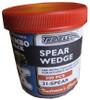 "1-1/4""x1/4"" Spear Wedge Red 500/JAR"
