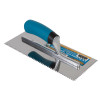 """1/8"""" Square Notch Stainless Steel Trowel - 12 Pack"""
