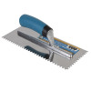 """11/64"""" Square Notch Stainless Steel Trowel"""