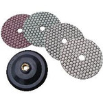 "5"" Diamond Stone Polishing Set with Attachment"