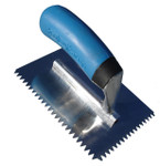 "6"" Mini Trowel 1/4 x 3/16"" V Notch"
