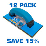 """4"""" x 9"""" Grout Float Pure Gum Rubber Bottom - 12 Pack $7 each"""