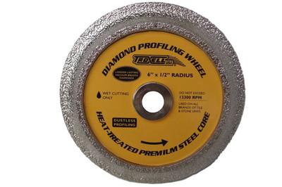 "1/2"" Bullnose Profile Wheel"