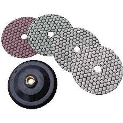 "5"" Diamond Stone Polishing Set with Attachment"