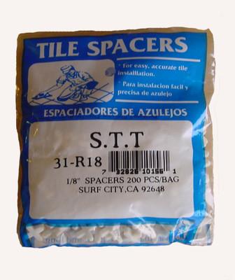 """3/16"""" Regular Spacers 150/BAG"""