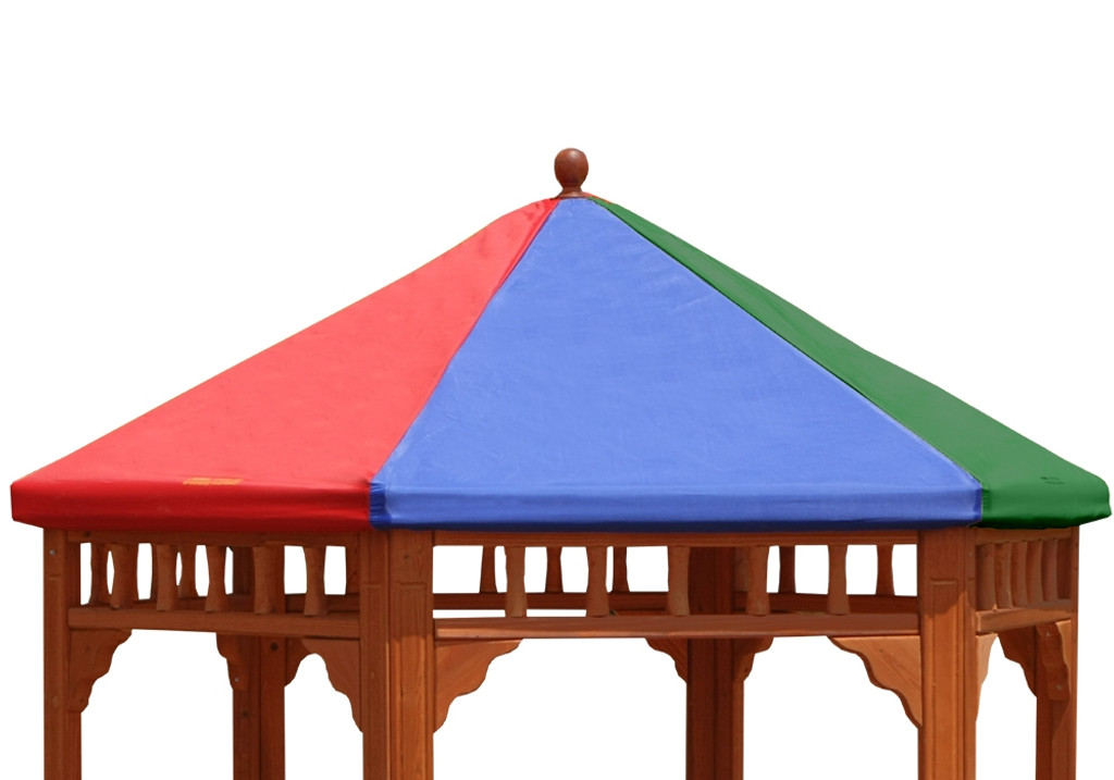 Studio View Of Play Zee Bo Replacement Multi Colored Tarp From Gorilla  Playsets Nice Design