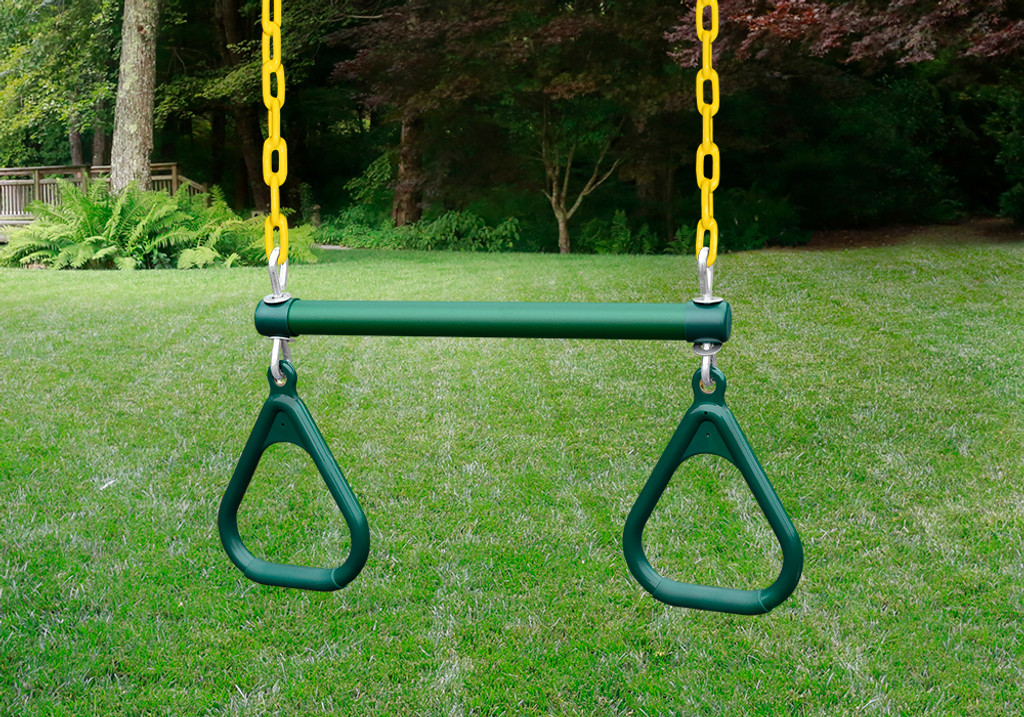 Mountaineer Clubhouse Wooden Swingset Playset