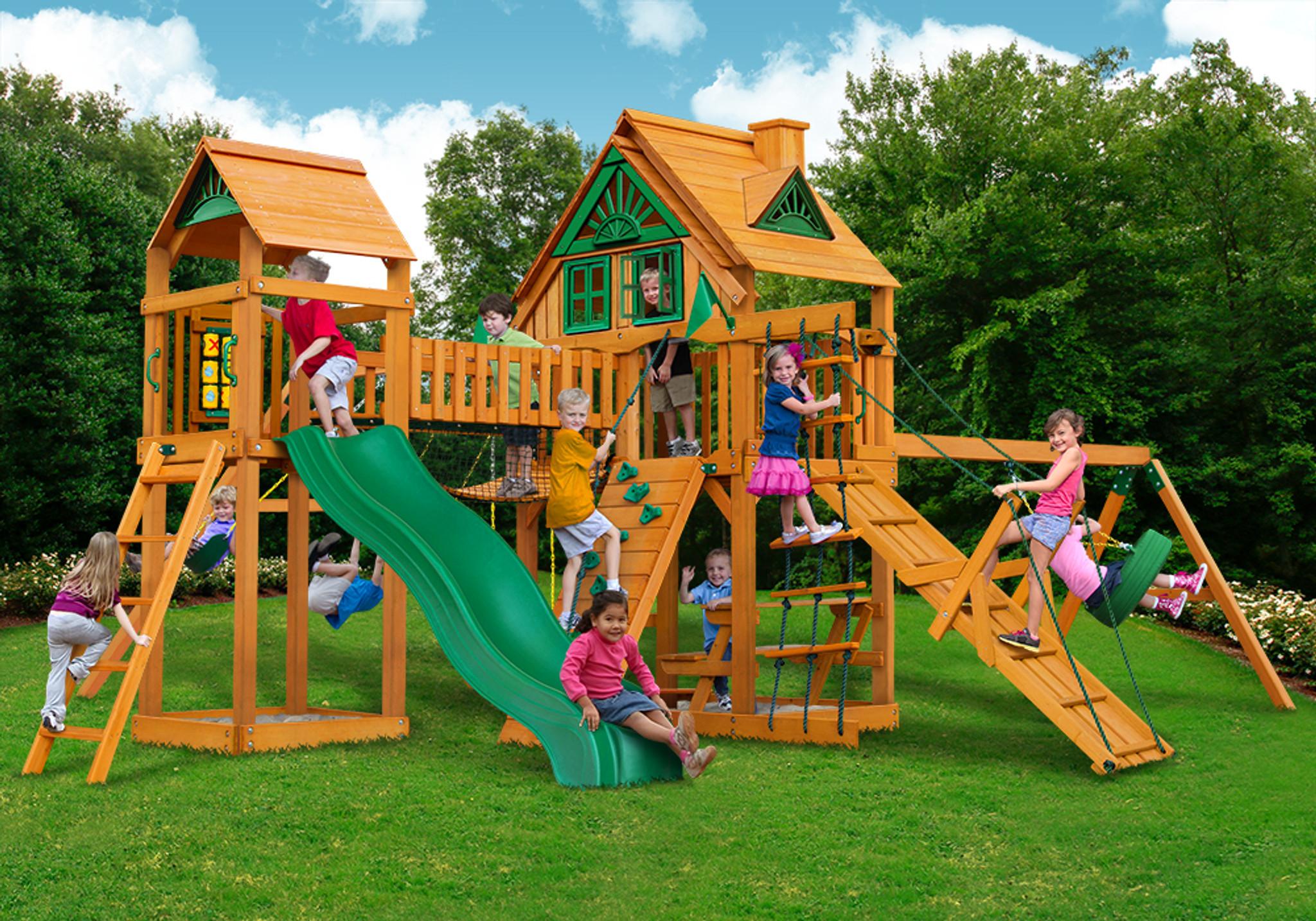 Pioneer Peak Wood Swing Set Accessories For Play Sets