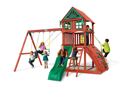 Hemisphere II Swing Set