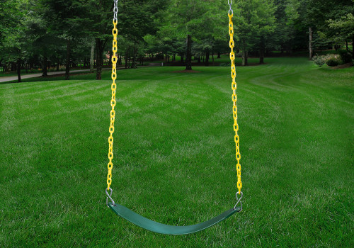 Green Swing Belt and Yellow Chains