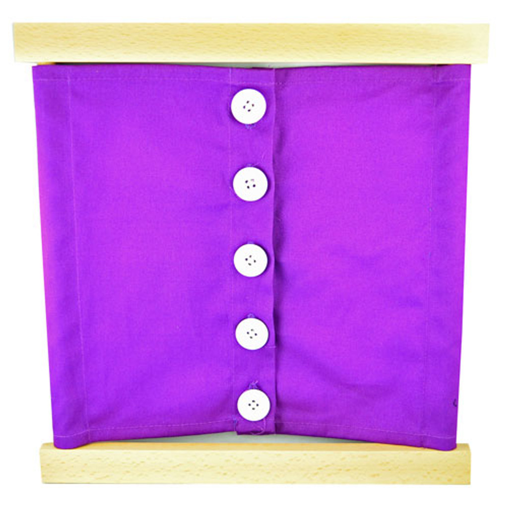 Large Buttons Dressing Frame