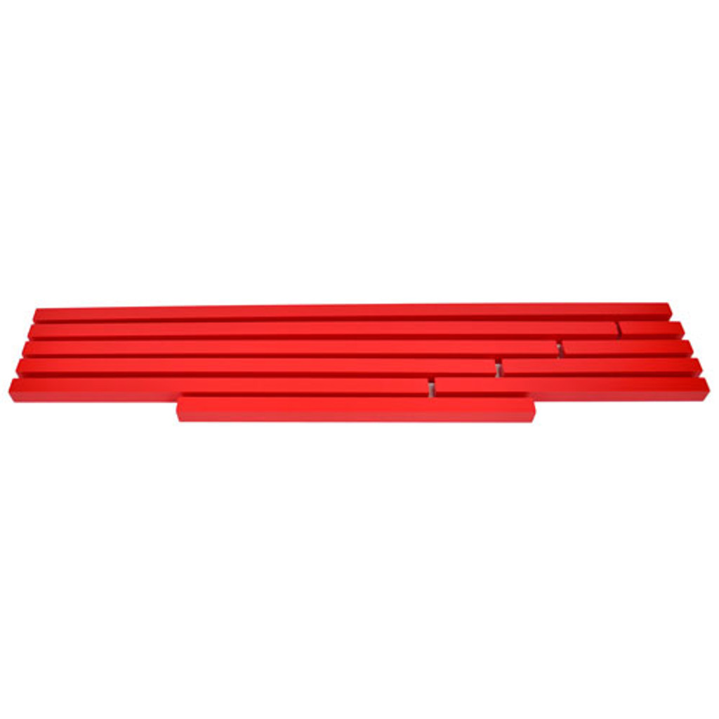 Long Red Rods