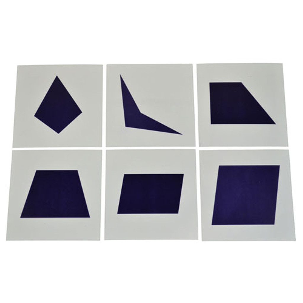 Cards for Geometric Cabinet