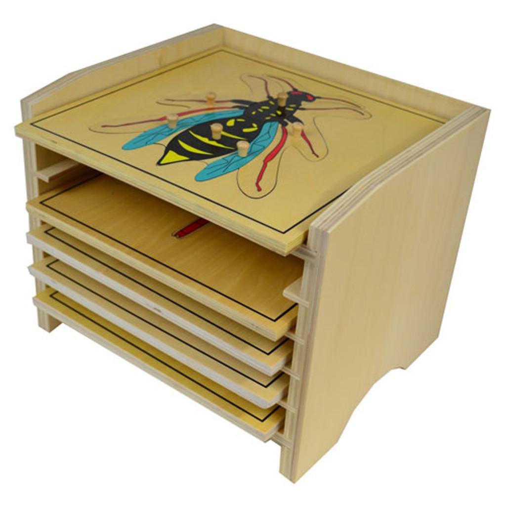 Five-Puzzle Cabinet