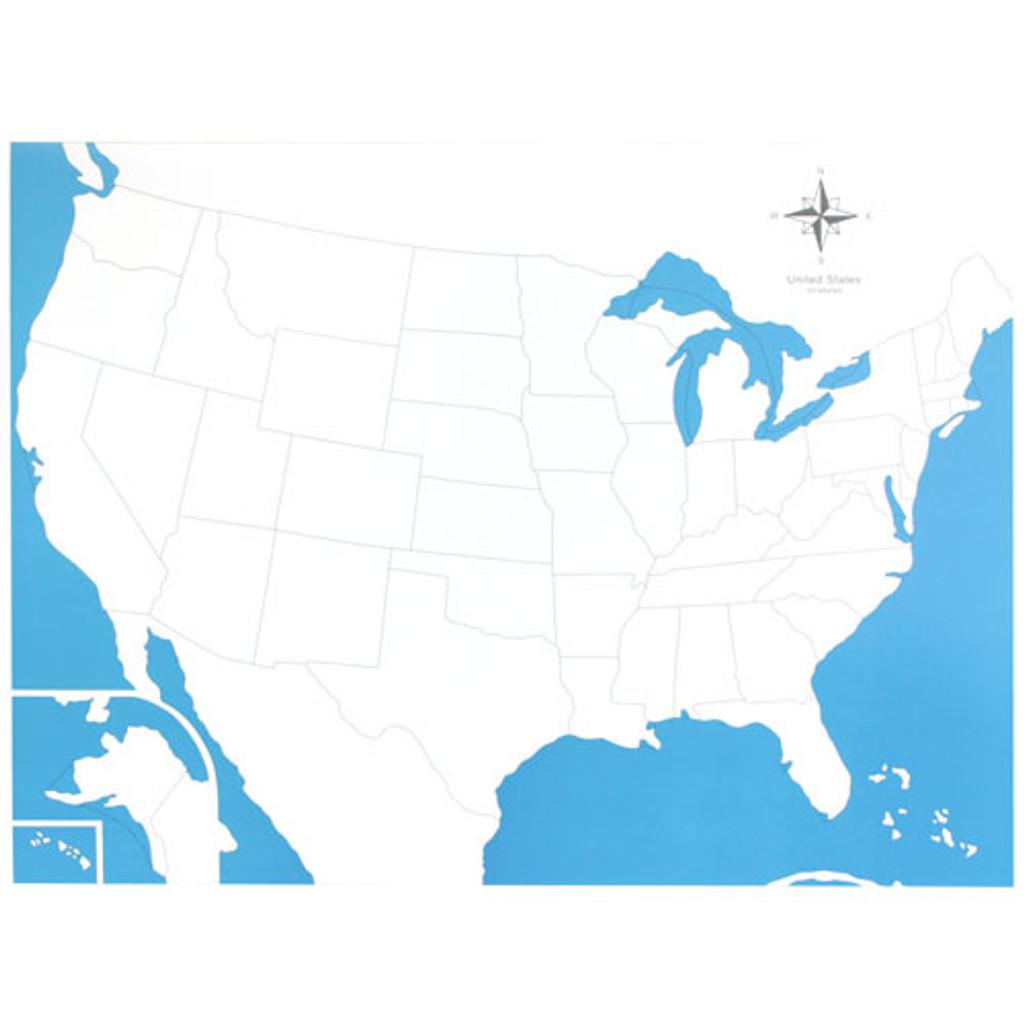USA Control Chart - unlabeled