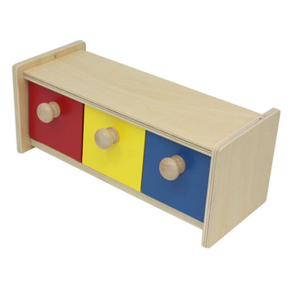Box with 3 Bins