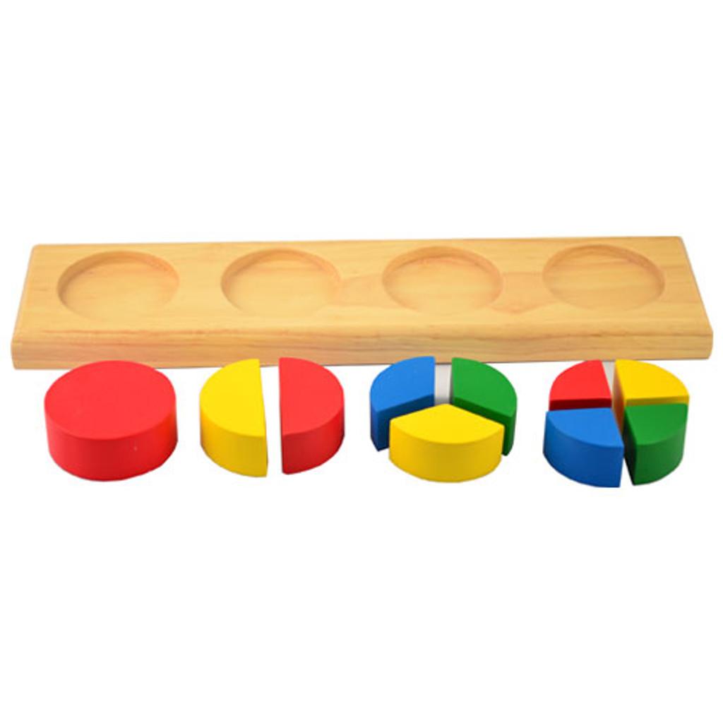 Fraction Bricks - Circles