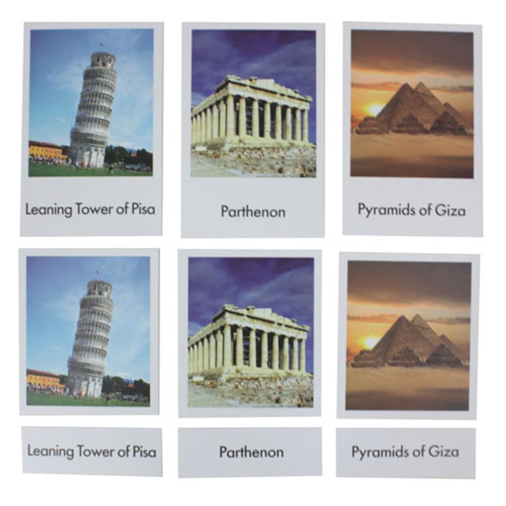 Landmarks Nomenclature Cards