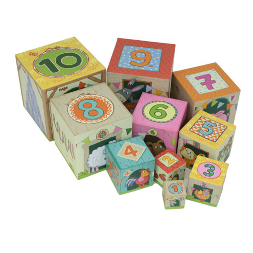 On The Farm Stacking Cubes