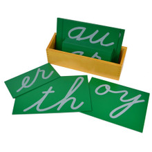 Sandpaper Digraphs - cursive