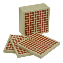 Wooden Hundred Squares
