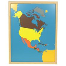 North America Puzzle Map