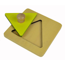 Triangle Inset Puzzle