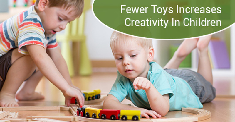 How Fewer Toys Can Increase Creativity in Children
