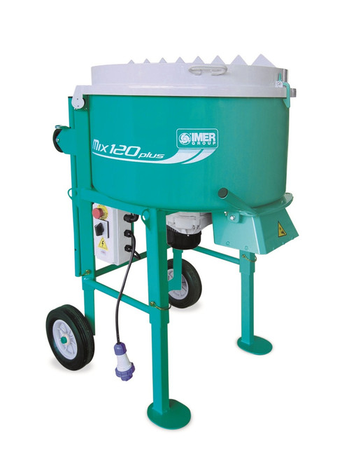 Imer Screed & Mortar Mix 120 Plus-1.4 kw Motor