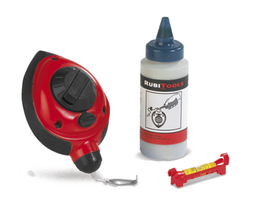 Rubi Chalk Line Master N with Level
