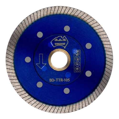 Porcelain Blade Thin Turbo Blue BAT 105mm