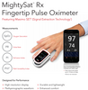 Masimo 9809 MightySat Rx Fingertip Pulse Oximeter with Bluetooth, Featuring Masimo SET® (Signal Extraction Technology®)