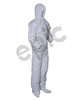 206853-2XL Epic Coveralls, White MP Coated, H&B, EW, EB, 2X-Large, 25/Case